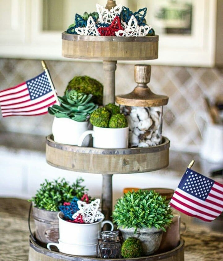 Using Succulent Plants In Your 4th of July Parties
